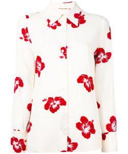 Saint Laurent | Рубашка С Цветочным Принтом