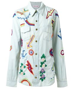 Isabela Capeto | Embroidered Denim Shirt