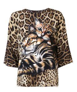Dolce & Gabbana | Блузка С Котятами