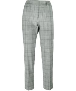 Piazza Sempione | Checked Straight Trousers