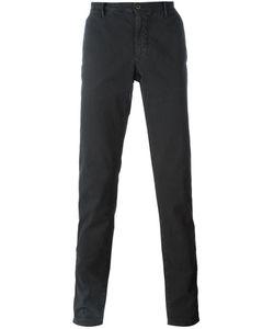 Incotex | Pinstriped Straight Leg Trousers