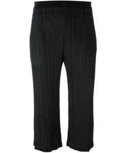 PLEATS PLEASE BY ISSEY MIYAKE | Light Flare Cropped Trousers