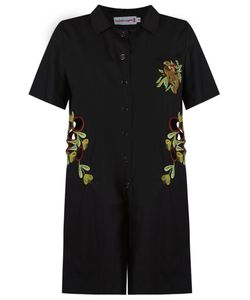 Isabela Capeto | Embroidered Playsuit