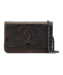 Chanel Vintage | Cc Logo Chain Wallet