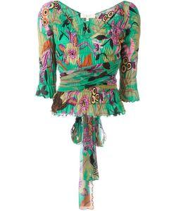 ROMEO GIGLI VINTAGE | Блузка С Цветочным Узором