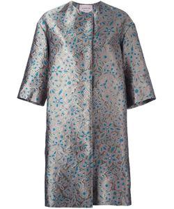 Lanvin | Пальто С Цветочной Вышивкой