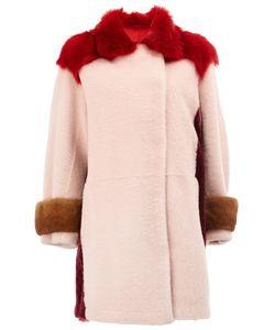 Maison Ullens | Пальто С Отделкой Из Овчины