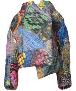 Vivienne Westwood | Объемное Пальто С Абстрактным Рисунком