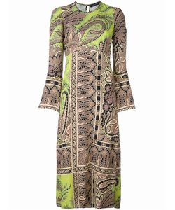 Etro | Paisley Print Midi Dress