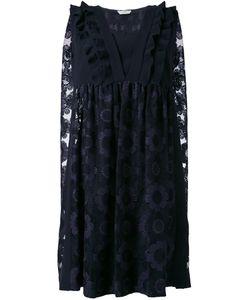 Fendi | Платье С Цветочной Вышивкой