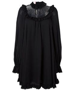 GIAMBA | Свободное Платье С Прозрачной Панелью