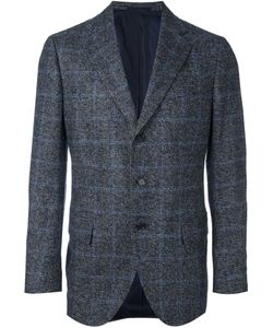 Cesare Attolini | Windowpane Tweed Blazer