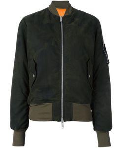 UNRAVEL | Camouflage Bomber Jacket