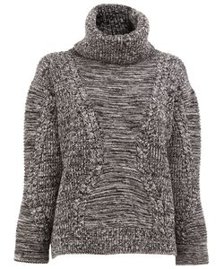 Maison Ullens | Roll Neck Cable Knit Jumper