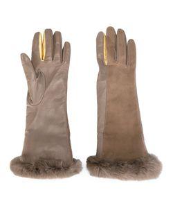 Gala | Перчатки С Отделкой Из Кроличьего Меха