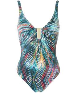 Lygia & Nanny | Abstract Print Swimsuit