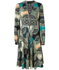 Etro | Printed V-Neck Dress