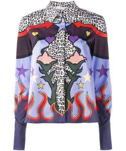 Mary Katrantzou | Рубашка С Абстрактным Принтом