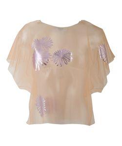 MSGM | Прозрачная Декорированная Блузка