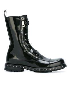 Dolce & Gabbana | Ботинки В Стиле Милитари