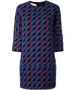 Marni | Платье Шифт С Узором