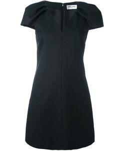 Saint Laurent | Платье Мини С V-Образным Вырезом