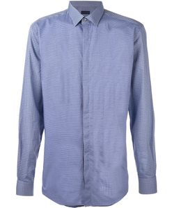 Lanvin | Contrast Checked Panel Shirt