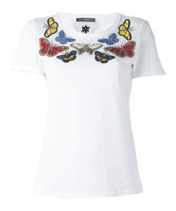 Alexander McQueen | Embellished Butterfly T-Shirt