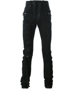 UNRAVEL | Distressed Skinny Trousers