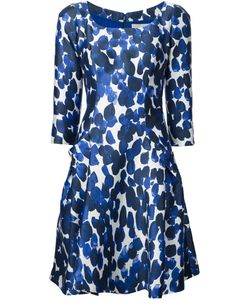 Carolina Herrera | Scoop Neck Printed Dress