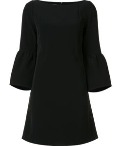 Lafayette 148 | Boat Neck Flared Dress