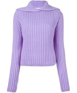 Carven | Пуловер В Рубчик