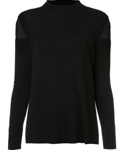 Lafayette 148 | Sheer Detail Pullover