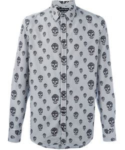 Alexander McQueen | Skulls And Stripes Print Shirt
