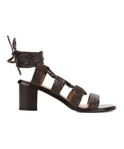 SCANLAN THEODORE | Braided Mid-Heel Sandals