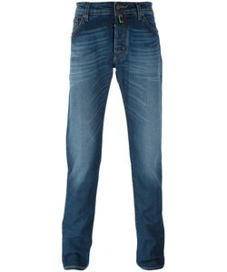 Jacob Cohёn | Jacob Cohen Fold Mark Effect Slim Fit Jeans