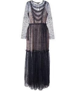 Si Jay | Прозрачное Платье С Длинными Рукавами