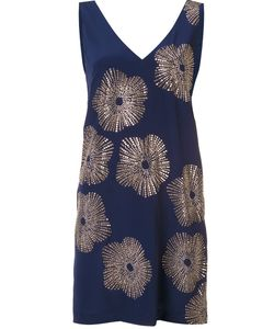 Trina Turk | Studded Flower Shift Dress