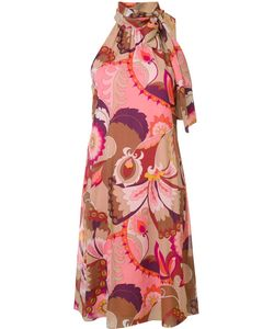 Trina Turk | Halter-Neck Printed Dress