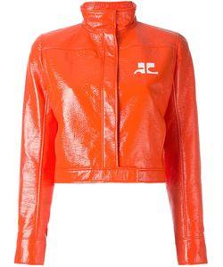 Courreges | Виниловая Укороченная Куртка