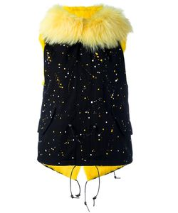 Furs66 | Куртка Без Рукавов С Принтом