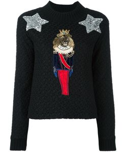Dolce & Gabbana | Lion Soldier Patch Jumper