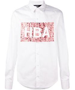 HOOD BY AIR | Рубашка С Принтом Логотипа