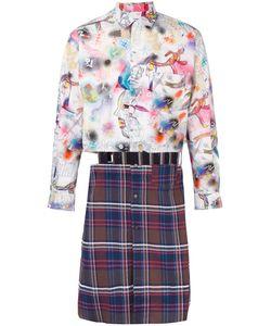 Comme Des Garcons | Удлиненная Рубашка В Стиле Пэчворк