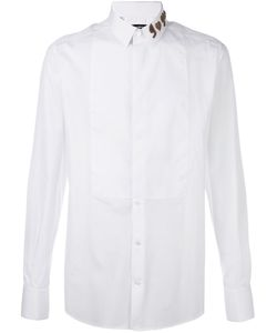 Dolce & Gabbana | Рубашка С Вышитым Воротником