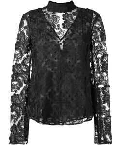 Perseverance | Paisley Embroidery Blouse