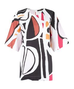ANDREA MARQUES | Printed Blouse