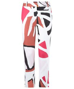 ANDREA MARQUES | Printed Skinny Trousers