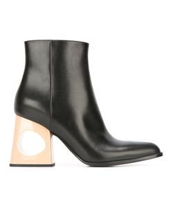 Marni | Cut-Out Heel Ankle Boots