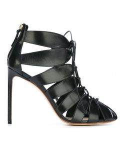 FRANCESCO RUSSO | Strappy Rear Zip Pumps
